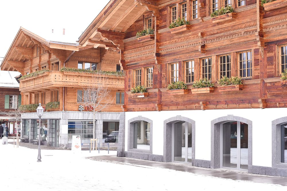 Gstaad - zimowy kurort