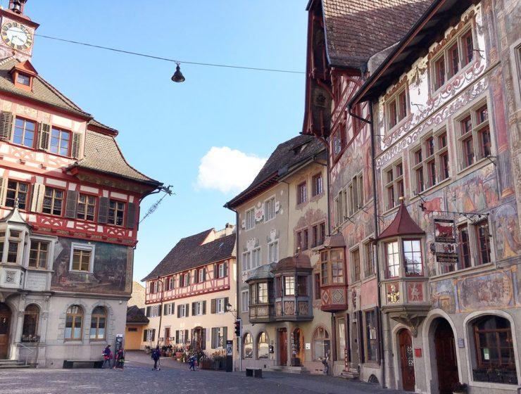Stein am Rhein - jedno z najpiękniejszych miast w Szwajcarii