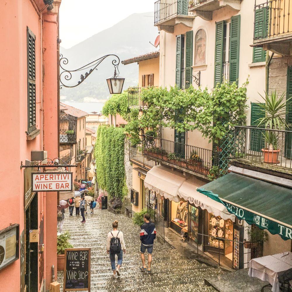 Bellagio, Schody Sebelloni