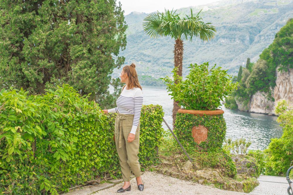 Villa del Balbianello w Lenno, Jezioro Como